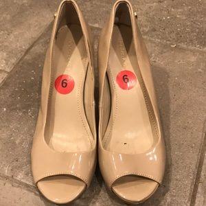 CK nude heels